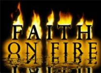 faith on fire image