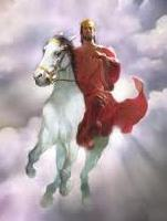 Jesus horse image