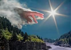hand sun syk image