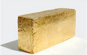 gold brick image