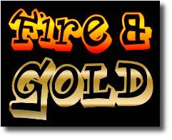 fire & gold image