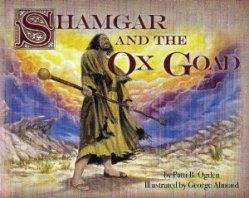 Shamgar and ox goad image