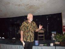 Prophet Ken Dewey preaching