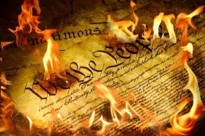 USA-Constitution-burning
